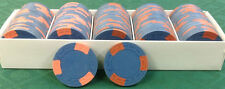 100 CLAY ASM POKER CHIPS casino quality A MOLD FREE SHIPPING #02
