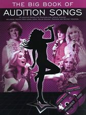 Big Book Of Audition Songs Female SING Rock Pop Piano Guitar PVG Music Book