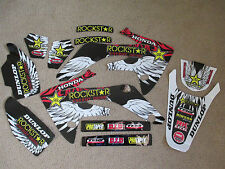 TEAM  ROCKSTAR HONDA GRAPHICS HONDA   CRF150R CRF150RL CRF150RB  LIQUID COOLED