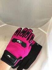 JOE ROCKET WOMENS VELOCITY 2.0 MESH PINK GLOVES EXTRA SMALL TOUCH SCREEN