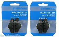 2 Pair Shimano BR-1055 M50T Road Bike Brake Pads Shoes fits DuraAce Ultegra 105