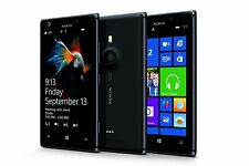 Excellent Nokia Lumia 925 - 16GB - Black AT&T GSM UNLOCKED Windows Smartphone