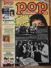 POP 16- 1977 (2) Paul McCartney Sweet Smokie L. McKeon Taxi Amanda Lear P.Briece