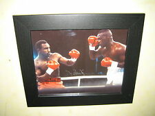 James 'Buster' Douglas Signed Photograph (8x10 inches) Framed