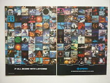 10/1984 PUB SPERRY RADAR TRAFFIC MARINE SIMULATION FLIGHT SYSTEMS ORIGINAL AD