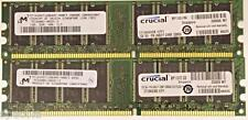 4GB (4X1GB) LOW DENSITY DDR PC-3200U Non-Ecc 400 MHZ 184 PIN CL3 RAM MEMORY
