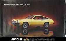 1980 Chevrolet Monza 2+2 Hatchback Showroom Poster 151198-UTIUHS