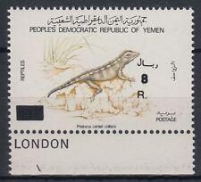 Yemen Republic 1993 ** Mi.116 Gecko Reptil Reptile Tiere Animals Fauna [aa307]