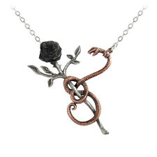 GENUINE Alchemy Gothic Pendant - A Rose For Eve | Ladies Fashion Necklace