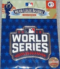 2016 World Series Jersey Patch Chicago Cubs Cleveland Indians Official Packaged