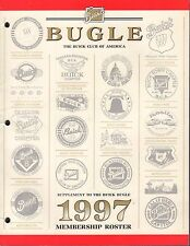 Bugle The Buick Club of America 1997 Member Roster 031417nonDBE