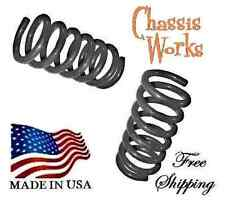 "2009-2014 Dodge Ram 1500 2WD 2"" Drop Coils Front Lowering Springs Lowering Kit"