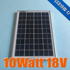 10W 18V Polycrystalline silicon Solar Panel moudle used for 12V battery