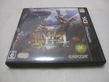 Used Nintendo 3DS Monster Hunter 4 Japanese 3DS Exclusive use. 10-14 Days to USA