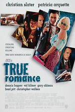 TRUE ROMANCE (1993) ORIGINAL MOVIE POSTER  -  ROLLED  -  DOUBLE-SIDED