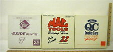 Winross Mac Tools Racing + Quality Care Ford Credit + Exide Batteries #7 MIB