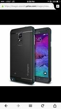 Samsung Galaxy Note 4 Case Neo Hybrid Metal Band  Black