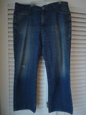 LUCKY BRAND DUNGAREES Mens Blue Jeans 40 Classic Fit Short Length Comfy HOT!