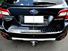 S/S Rear Step Bumper Panel Boot Garnish Protector for Subaru Outback 5GEN 14-16