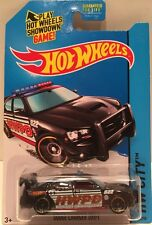 HOT WHEELS 2014 HW CITY #48 DODGE CHARGER DRIFT HOTWHEELS BLACK MOPAR POLICE