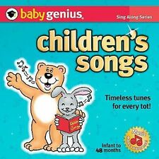 Childrens Songs Sing Along Music Series kids CD fun tunes infant to 4 years play