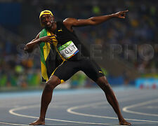 Usain Bolt Jamaica 2016 Rio Olympics Gold Medal 8x10 Photo