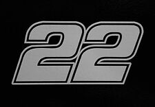 (2) # 22 Joey Logano Racing Vinyl Die Cut Decal Nascar Sticker 5""