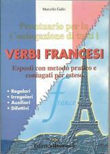 Prontuario coniugazione verbi francesi Girasole editrice