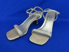 NEW Special Occasions by Saugus Shoe BABY SEQUIN - 6660 Gold Satin Size: 6 M