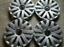 """SET of 4 61559 16"""" Hubcaps Wheelcovers for 2010-2014 VW Volkswagen JETTA New"""