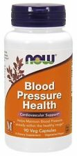 Now Foods BLOOD PRESSURE HEALTH - 90 VegCaps - Cardiovascular Heart Support