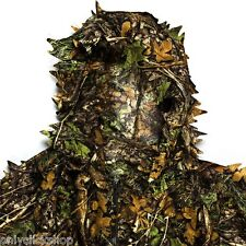 3D Jungle Outdoor Suit Set Camouflage Clothing Ghillie Military Hunting Camping