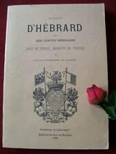 LA MAISON D' HEBRARD: par JULES BOURROUSSE DE LAFFORE