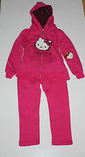 HELLO KITTY HOODED JACKET AND PANTS 2 PC SET PINK GIRLS 5T GIFT IDEA