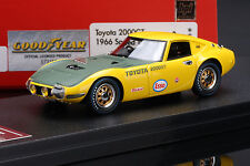 Toyota 2000GT 1966 Speed Trial  --  HPI #8327 RESIN 1/43