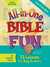 All-in-One Bible Fun for Elementary Children: Fruit of the Spirit: 13 Lessons fo
