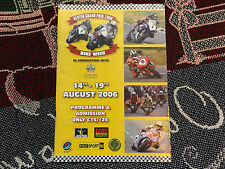 2006 ULSTER GRAND PRIX MOTOR CYCLE ROAD RACE PROGRAMME