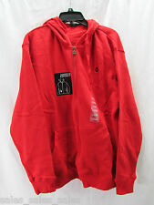 Southpole Hoodie Mens Size Large Nwt Sweatshirt Jacket Audio Pocket red