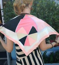 VINTAGE SILK GEOMETRIC GIVENCY SCARF