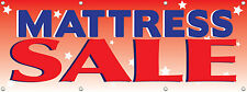 96in X 36in MATTRESS SALE Banner Mattress Store Sale Signs 8X3 FT Multi Color