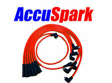 Ford Capri V6 Essex engine 8mm AccuSpark Red  Silicon  HT Lead set 70cm  coil