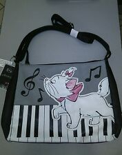 DISNEY LOUNGEFLY ARISTOCATS CROSSBODY SHOULDER BAG PURSE MUSIC NOTES PIANO nwt