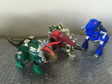 Hasbro Transformers  G2 Dinobots lot of 3 Grimlock/Snarl/Slag Look Nice!