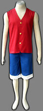 One Piece Cosplay Costume Monkey D. Luffy 1st Any Size