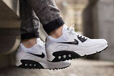 "NIKE Air Max 90 Essential Womens Shoes Size 6.5 616730-110 ""White & Black"""