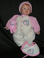 """17"""" Baby Doll City HK Toys Soft Body Vinyl *Special Delivery*"""