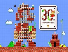 Nintendo Nes Snes Super Mario Bros Game 30th Anniversary Fridge Magnet Decor #3