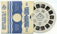 Making Swiss Cheese Switzerland 1948 Sawyer's ViewMaster Single Reel 2015