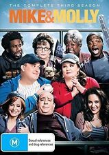MIKE AND MOLLY - SEASON 3  -  DVD - UK Compatible - New sealed