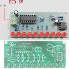 NE555 & CD4017 LED Luz Sequencer Seguidor Rueda Desplazamiento Módulo DIY Kit